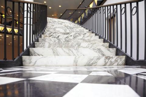 Escaliers marbre